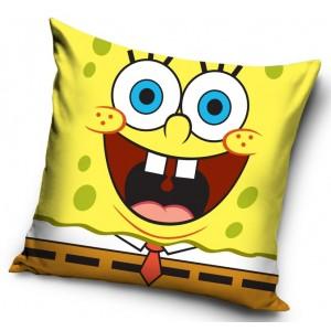 Žltá dětská návliečka na vankúš Spongebob