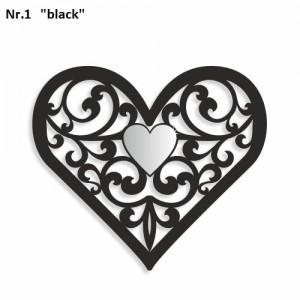 Dekorácia na stenu v tvare srdca
