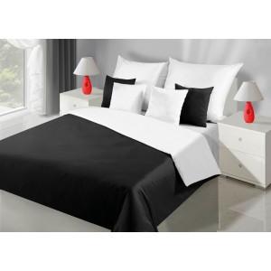 Posteľné obojstranné obliečky čiernej farby