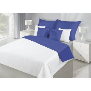 Exkluzívne obojstranné posteľné obliečky bielej farby