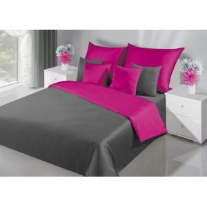 Nádherné obojstranné posteľné obliečky v ružovej farbe