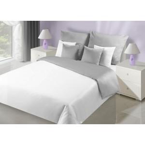 Strieborné obojstranné posteľné obliečky