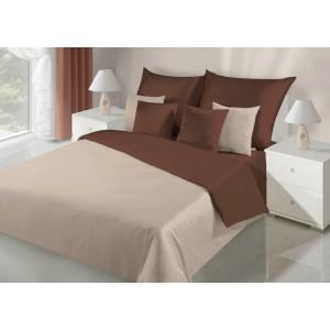 Obojstranné obliečky na posteľ v béžovej farbe
