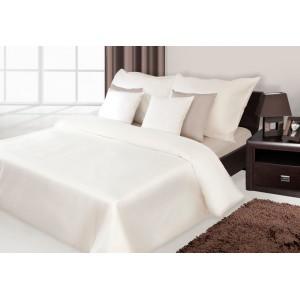 Krémové luxusné posteľné obliečky