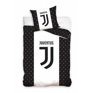 Biela detská obliečka s futbalovým vzorom Juventus