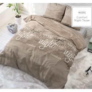 Kvalitné posteľne obliečky s nápismi good night