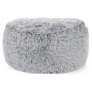 Pohodlné nafukovacie taburetky sivej farby