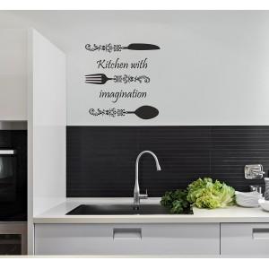Moderná nálepka do kuchyne
