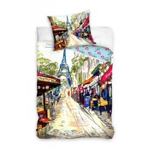 Paríž posteľné obliečky do detskej izby
