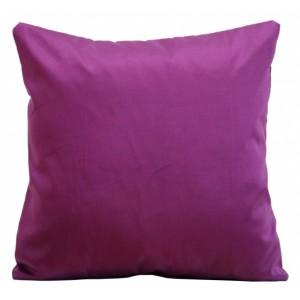 Luxusná fialová obliečka na vankúš k prehozom