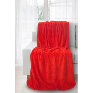 Prehozy na sedacie súpravy v červenej farbe