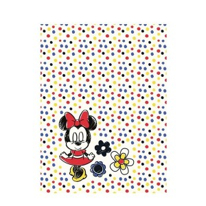 Bodkovaná detská deka s myškou Minnie