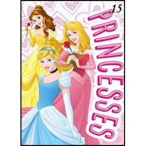 Ružová deka pre dievčatá s princeznami
