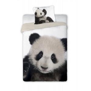 Kvalitné detské posteľné obliečky s motívom pandy