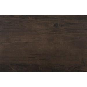 Tmavo hnedé prestieranie na stôl drevený motív