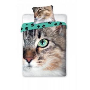 Posteľné obliečky mačky z bavlny