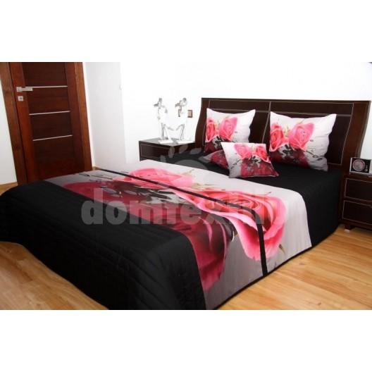 Prehoz na posteľ Ruža 3D 220x240