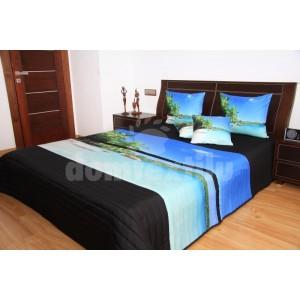 Exotický prehoz na posteľ 3D 220x240