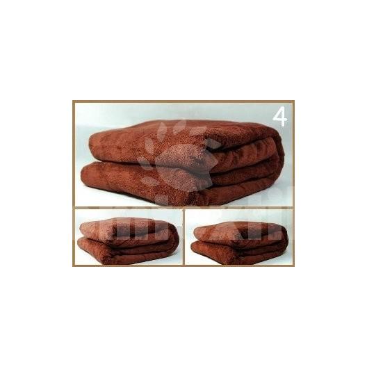 Luxusná deka z mikrovlákna 160 x 210cm bronzová č.4