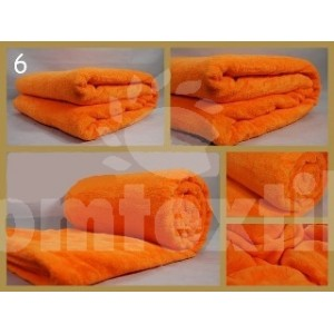 Luxusná deka z mikrovlákna 160 x 210cm pomaranč č.6
