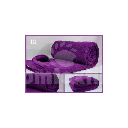 Luxusná deka z mikrovlákna 160 x 210cm tmavo fialová č.10