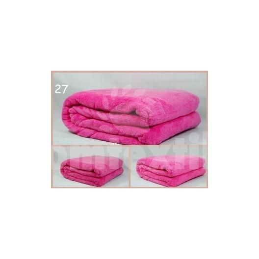 Luxusná deka z mikrovlákna 160 x 210cm ružová č.27