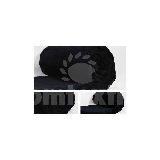 Luxusná deka z mikrovlákna 160 x 210cm čierna č.43