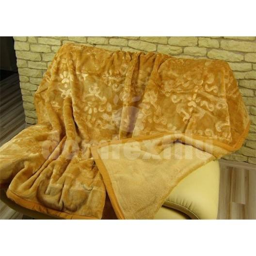 Luxusné deky z akrylu 160 x 210cm hnedá č.11