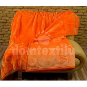 Luxusné deky z akrylu 160 x 210cm oranžová č.23