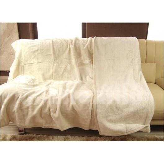 Luxusné deky z akrylu 160 x 210cm béžová č.31