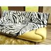 Luxusné deky z akrylu 200 x 240cm zebra č.2