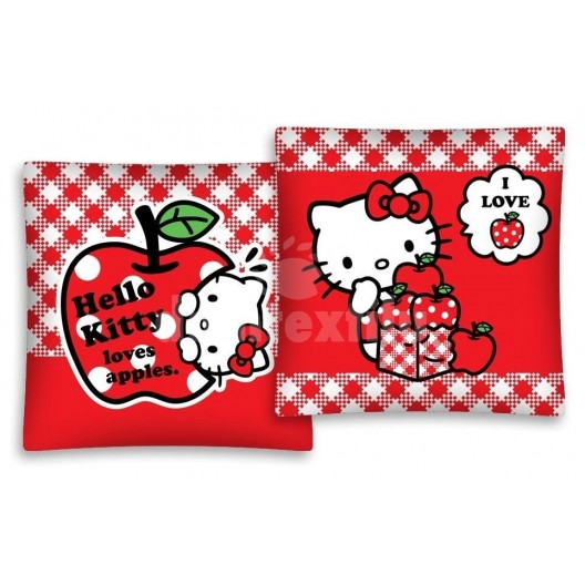 Obliečka na vankúš s motívom Hello Kitty JD50