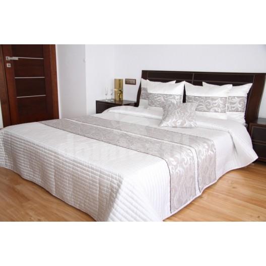 Luxusný prehoz na posteľ odtiene béžovej