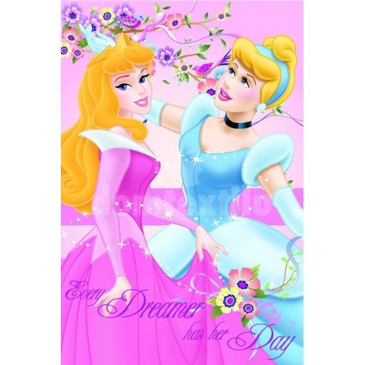 Jemná detská deka Disney Princess