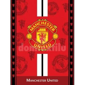 Jemná detská deka futbalového klubu Manchester United