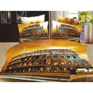 Moderné posteľné obliečky s motívom Rímskeho kolosea