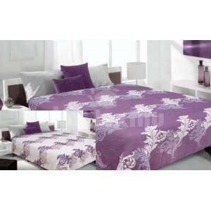 Prehoz na fialovej farby s krémovými listami