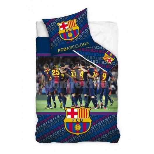 Modrá obliečka na detskú posteľ FC Barcelona
