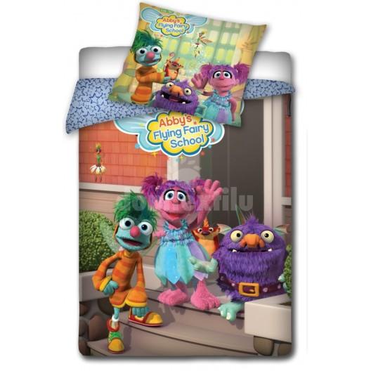 Farebné obliečky na detskú posteľ motív Abby´s Flying Fairy School