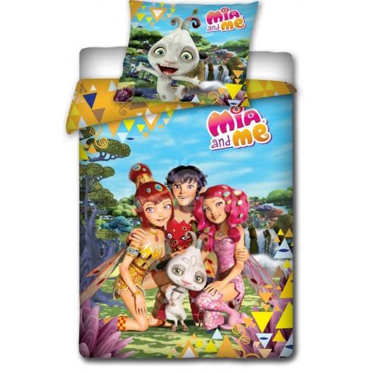 Posteľné obliečky s motívom detských animovaných postavičiek  Mia and me
