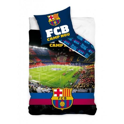 Detské posteľné obliečky so štadiónom FCB
