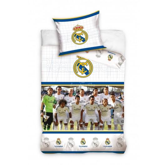 Biela obliečka na detskú posteľ Real Madrid