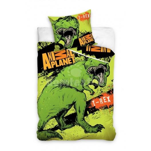 Animal Planet zelené detské posteľné obliečky