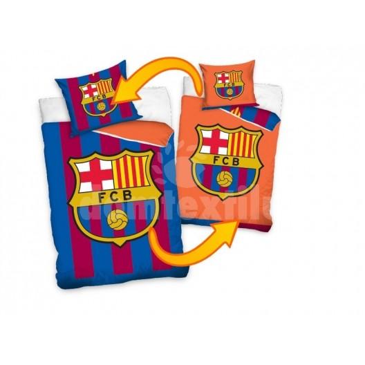Obojstranné obliečky na detskú posteľ  s FC Barcelona