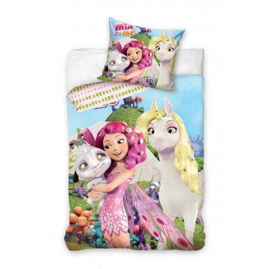 Mia and me detské posteľné obliečky s jednorožcom