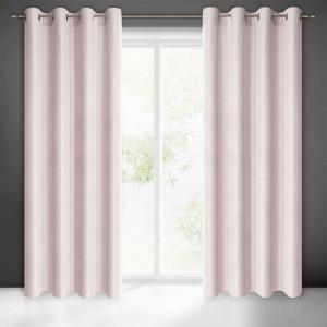 Ružový zatemňovací záves do spálne