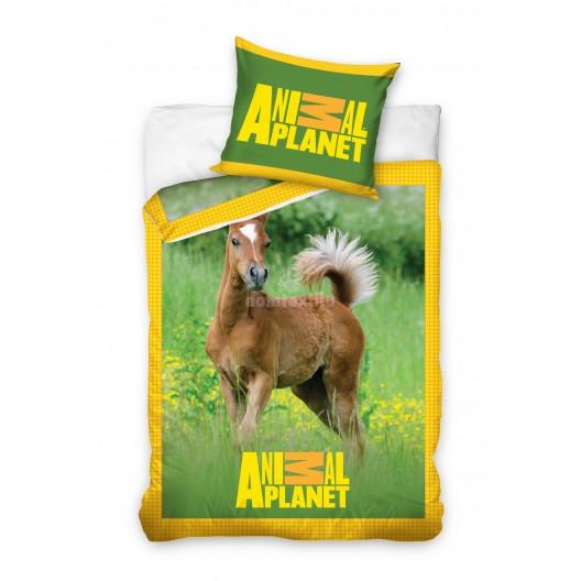 Animal Planet zelené detské obliečky na posteľ