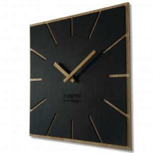 Brilantné nástenné hodiny pre moderný interiér 40 cm