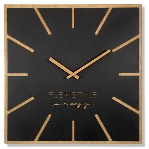 Štýlové drevené nástenné hodiny 60 cm