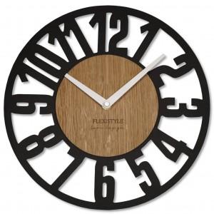 Dizajnové hodiny s veľkým číslami 30 cm